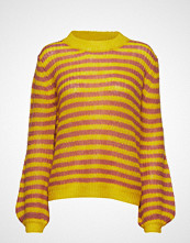 Coster Copenhagen Sweater In Mohair W. Stripes And Vo