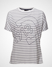Didriksons Alva Wns T-Shirt T-shirts & Tops Short-sleeved Hvit DIDRIKSONS