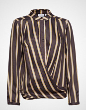 Coster Copenhagen Shirt In Jacquard Stripes W. Button