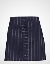 Mango Striped Miniskirt