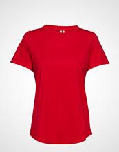 Banana Republic Supima® Cotton Crew-Neck T-Shirt T-shirts & Tops Short-sleeved Rød BANANA REPUBLIC