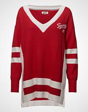 Tommy Jeans Tjw Varsity V-Neck Sweater