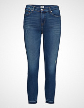 Tommy Jeans Mid Rise Skinny Nora 7/8 Mrthg Skinny Jeans Blå TOMMY JEANS