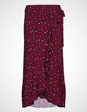 Michael Kors Hrt Wrap Ruffle Skirt