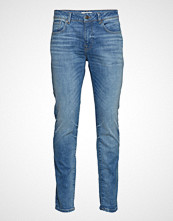 Selected Homme Slhslim-Leon 6143 M.Blue St Jeans W Noos Slim Jeans Blå SELECTED HOMME