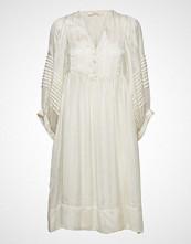 Rabens Saloner Lurex Stripe Ls Short Dress