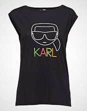 Karl Lagerfeld Neon Lights Karl Outline Tee