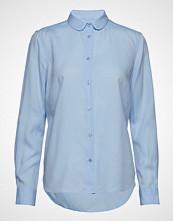 Mos Mosh Clara Nani Shirt Langermet Skjorte Blå MOS MOSH