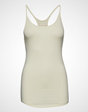 Filippa K Soft Sport Cotton Strap Tank T-shirts & Tops Sleeveless Creme FILIPPA K SOFT SPORT