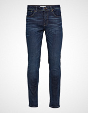 Selected Homme Slhslim-Leon 6144 D.Blue St Jeans W Noos Slim Jeans Blå SELECTED HOMME