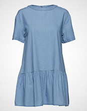 Tommy Jeans Tjw Dropped Waist Chambray Dress