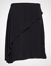 Rabens Saloner Sand Washed Draped Skirt