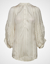 Rabens Saloner Lurex Stripe Shirt