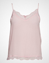 Custommade Pouline Bluse Ermeløs Rosa CUSTOMMADE