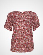 Lexington Clothing Ellis Red Flower Top