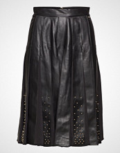 Marciano by GUESS Malvina Leather Pleated Skirt