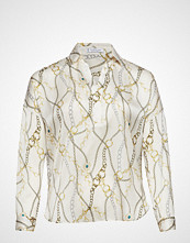 Violeta by Mango Chain Print Blouse