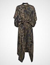 Rabens Saloner Lava Long Kimono Dress