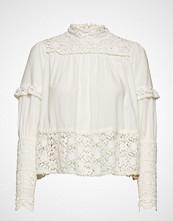 by Ti Mo Vintage Cotton High Neck Blouse