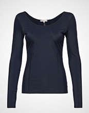 Filippa K Soft Sport Double-Scoop Top T-shirts & Tops Long-sleeved Blå FILIPPA K SOFT SPORT