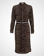 Saint Tropez Woven Dress Under Knee  L/S