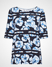 Gerry Weber Edition T-Shirt 3/4-Sleeve R T-shirts & Tops Short-sleeved Blå GERRY WEBER EDITION