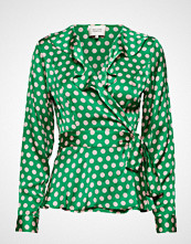 Second Female Spotty Wrap Blouse