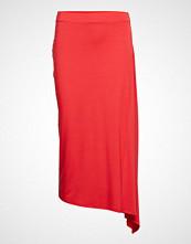 Mango Asymmetric Midi Skirt