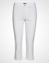 Gant O1. Slim White Capri Denim