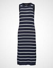 Banana Republic Sl Rib Column Sweater Dress Stripe