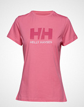 Helly Hansen W Hh Logo T-Shirt T-shirts & Tops Short-sleeved Rosa HELLY HANSEN