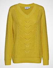 Saint Tropez Pointelle Knit Sweater