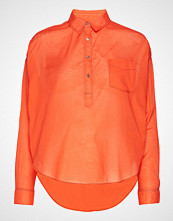 Scotch & Soda Light Weight Cotton Shirt Langermet Skjorte Oransje SCOTCH & SODA