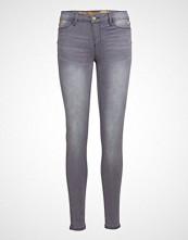 Desigual Denim Kentya Skinny Jeans Grå DESIGUAL
