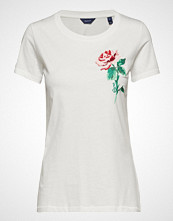 Gant O1. Rose C-Neck Ss T-Shirt
