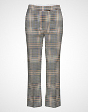 Mango Plaid Trousers