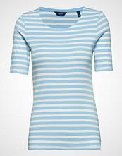 Gant Striped 1x1 Rib Ss T-Shirt