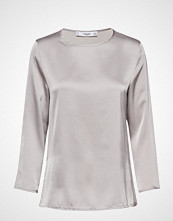 Mango Satin Long Sleeve T-Shirt