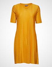 B.Young Bytrisha Dress - Knelang Kjole Gul B.YOUNG