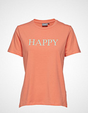 B.Young Bypandina Happy Tshirt - T-shirts & Tops Short-sleeved B.YOUNG