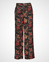 Scotch & Soda Tailored Wide Leg Pants Vide Bukser Multi/mønstret SCOTCH & SODA