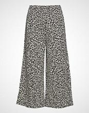 Diana Orving Cropped Trousers Vide Bukser Svart DIANA ORVING