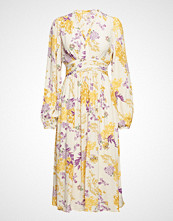 by Ti Mo Ruffle Bell Sleeve Dress