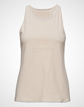 Casall Ventilation Racerback T-shirts & Tops Sleeveless Creme CASALL