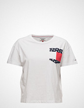 Tommy Jeans Tjw Flag Pocket Tee