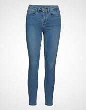 Vila Vicommit Felicia Rw Slim 7/8 V. Lbd-Noos Skinny Jeans Blå VILA