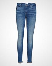 Only Onlcarmen Reg Sk Ank Jns Bb Rim17299noos Skinny Jeans Blå ONLY