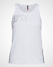 Newline Core Coolskin Singlet T-shirts & Tops Sleeveless Hvit NEWLINE