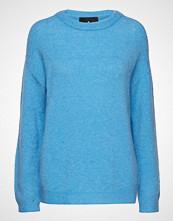 Designers Remix Tyler Sweater Strikket Genser Blå DESIGNERS REMIX