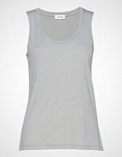 American Vintage Jacksonville T-shirts & Tops Sleeveless Grå AMERICAN VINTAGE